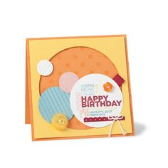 Stampin Up birthday circles