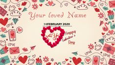 Online Powerpoint Templates, Powerpoint Tutorial, Powerpoint Template Free, Saint Valentine, Valentines Day, Powerpoint Animation, A4 Paper, Calendar, Presentation