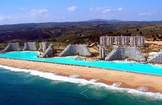largest outdoor pool!  wow!