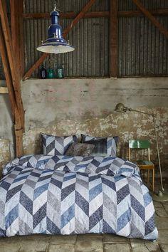 Beddinghouse Dawson Dekbedovertrek - lits-jumeaux - 240x200/220 - Blauw