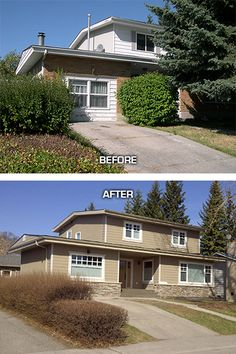 Exterior home renovations on pinterest exterior remodel Exterior home renovations calgary