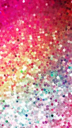 Colorful Glitter - Tap to see iPhone Glitter & Sparkle Wallpapers Collection. Re-pin for later @mobile9