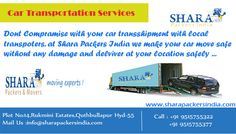Car Transportation  www.sharapackersindia.com