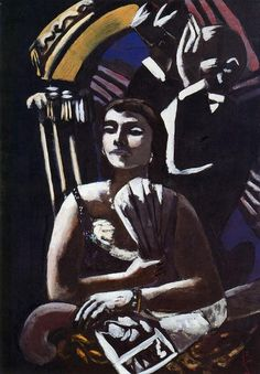 The Loge by Max Beckmann (1884-1950, Germany)