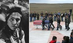 Funeral held for Joe Medicine Crow, the last war chief of his people. ~ A MUST read because it is such an inspiring story.