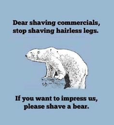 The Problem With Shaving Commercials