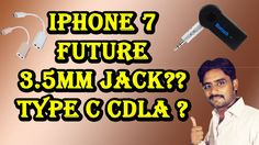 Type C CDLA Headphone ? 3.5mm Jack? iPhone 7 Future Headphone Jack ?