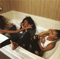 Find images and videos about friends, melanin and baddies on We Heart It - the app to get lost in what you love. Go Best Friend, Best Friend Goals, Best Friends, Bff Goals, Squad Goals, Black Love, Black Is Beautiful, Black Girl Magic, Black Girls