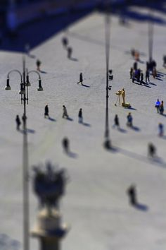 Tilt Shift Photography aka little toys by Albino Tonnina, via Behance