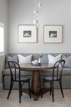 My top 10 favourite breakfast nooks.  From a small cosy corner to a large scale, family dining area - read further to see my top 10 favourite breakfast nooks.