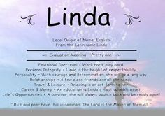 the name linda means - Google Search