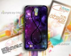 Invinite Love Galaxy - Print On Hard Case Samsung Galaxy S4 i9500