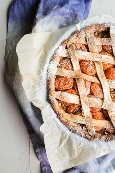 ... tarte aux abricots {vegan} ...
