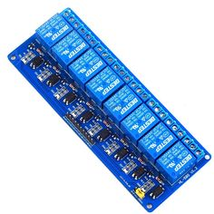 5PCS 8 Channel 24V Relay Module Relay Expansion Board Low Level Triggered 8Channel Relay Module for Arduino #Affiliate