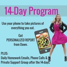 Interested in my 14-Day Personal Program? Next group starts on Sunday, Feb 28 https://dawnjacksonblatner.com/services/14-day-program/