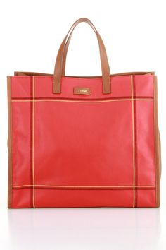 Fendi Contract Stitch Tote