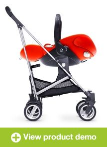 Most Innovative Products | Baby Safety Zone   Cloud Q Infant Car Seat From  CYBEX By