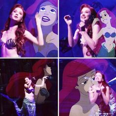 Sierra Boggess as Ariel: Role model officially decided