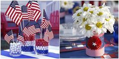 ❥ 4th of July Tablescape Inspiration Ideas