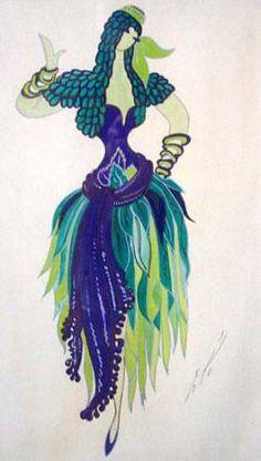 Erte costume design...beautiful!