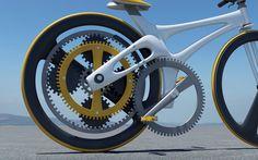 Orbital - велосипед с принципиально иной системой передачи. В нем вместо цепи используются шестеренки, увеличивающие усилие велосипедиста. Изобрел этот велосипед дизайнер из Гватемалы Хуан Карлос Ногуера.