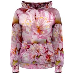 Sakura Cherry Flower Wedding Bouquet Women's Pullover Hoodies CowCow ($70) ❤ liked on Polyvore featuring women's fashion, tops, beautiful, flowers, valentine, print pullover, flower print top, cocktail tops, pattern tops and sweater pullover