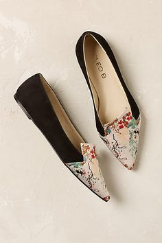 Anthropologie EU Mandarin Flats