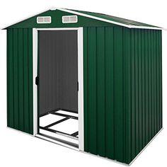 Tool Shed Garden House Metal - Garden Tool Storage Cabin 210x132x186 Centimeter - 4.22 Cubic Meter