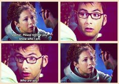 You can see her heart breaking. :'( Even though I don't really like River Song, this is kinda sad :/ Hello Sweetie, Geek Humor, Matt Smith, David Tennant, Dr Who, Mad Men, A Good Man, Comedians, Doctor Who