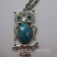Vintage owl jewelry!