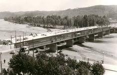 Ponte de Santa Clara, em construção