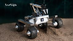 World's first land drone designed by Mars rover engineers.   Projects of Earth