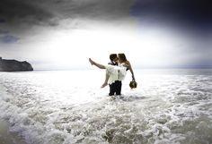 Trash the wedding dress  http://www.balladsphotography.com