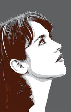 Isabelle Adjani by sergemalivert Vector Portrait, Portrait Art, Transférer Des Photos, Vector Character, Watercolor Paintings Nature, Pop Art Images, Caricature, Art Simple, Art Vintage