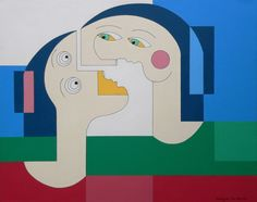 ARTFINDER: Flying Lovers by Hildegarde Handsaeme -