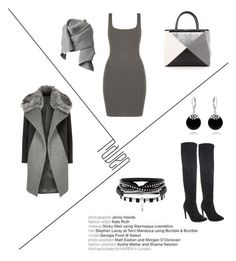 """black&grey"" by insomnia96 on Polyvore featuring River Island, Fendi, Acne Studios and Bling Jewelry"
