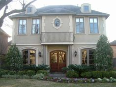 home exteriors - exterior French  My Faux Chateau!  home exterior