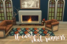 U Can! Ikat RunnersWhen I was searching ColourLovers for the patterns I used on my last rug set, I stumbled across this really nice Ikat pattern and fell in love! This 4x1 runner has 20 swatches in...