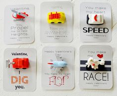 lots of really cute vday card ideas! Love it!