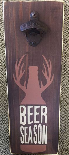 It's beer season! This would make a great gift for the outdoor man.