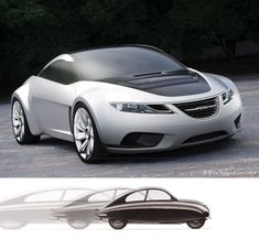 Saab Concepts & Prototypes-Vintage Meets The Future