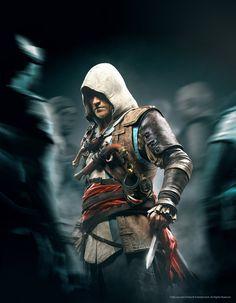 ArtStation - Edward Kenway - Assassin's Creed, Hugo Deschamps