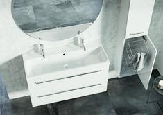 Kwadro Plus Collection na tablicy Bathroom Furniture. Meble Łazienkowe Bathtub, Vanity, Mirror, Bathroom, Furniture, Design, Home Decor, Products, Standing Bath