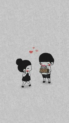 74 images about no place like home on we heart it see more a Cute Couple Cartoon, Cute Love Cartoons, Cute Love Wallpapers, Drawing Sketches, Drawings, Videos Tumblr, Couple Wallpaper, Poses, Love Images