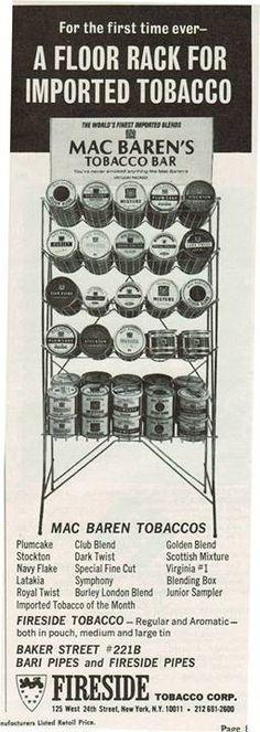 Mac Baren Advertisement