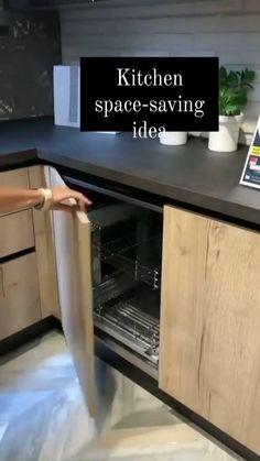 Kitchen Room Design, Home Room Design, Kitchen Cabinet Design, Modern Kitchen Design, Home Decor Kitchen, Interior Design Kitchen, Kitchen Furniture, Home Kitchens, Kitchen Ideas