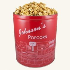 Johnson's Large Popcorn Tin - For my sis in law  <3