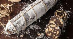 Σοκολατένιο σαλάμι αρωματισμένο με περγαμόντο Greek Sweets, Greek Desserts, Death By Chocolate, White Chocolate, Kitchen Twine, Tea Biscuits, Nutrition Chart, Processed Sugar, Good Fats