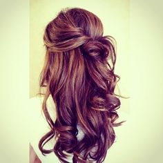 #prom hair possibility? #blushprom