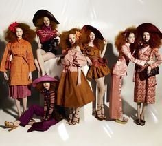 Gangs of New York by Mario Testino and styled by Grace Coddington for Vogue US February 2011